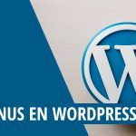 Los menús en WordPress