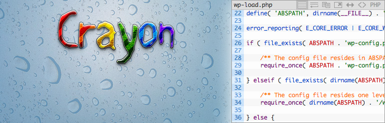 Crayon Syntax Hightlighter