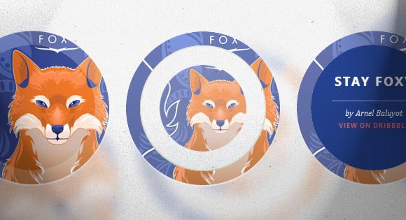 Efectos hover en círculos con transiciones CSS3