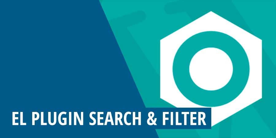El plugin Search & Filter