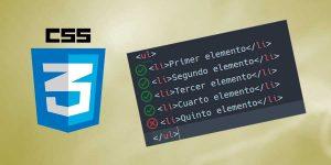 CSS: Seleccionar toda una lista excepto last-child
