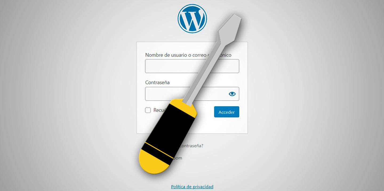 Cómo personalizar la página de Login de Wordpress sin plugins